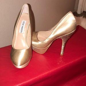 Steve Madden pumps glitter heels Partyy-r size 5.5